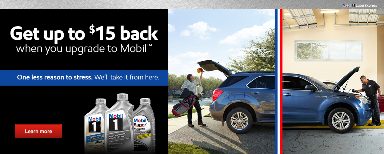 Get up to $15 back when you upgrade to Mobil.